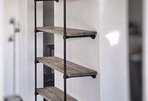 Planken woonkamer