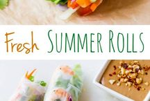 Fresh summer roll / Fresh salad