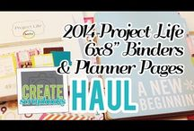 project life - SCRAPBOOKING / by Patty Bruce-Clark