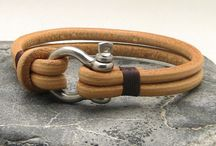 Leather Bracelets and Designs