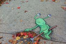 Strassenmalerei