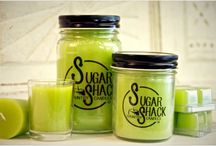 CANDLES / Sugar Shack Candles are highly fragranced, long lasting, and hand poured in the USA!