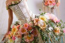 blomklänningar