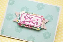 Layered and stacked cards