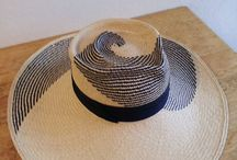 Summer Hats by Corina Haywood / Hand made hats for men and women. These One of a kind hats are hand sculpted in parisisal, panama and sisal straw. Comfortable, light and durable, these hats provide shade, sun protection and most importantly unique style.
