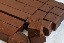 Doces chocolate