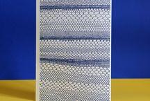 Papeterie - Carnets A5 / Couvertures avec gaufrage et impression en relief. 140 pages blanches. Fabriqué à Paris
