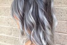 color blanco de pelo
