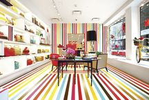 Colourful Home Inspiration / Some great ideas for bringing colour into your home interior decor scheme.