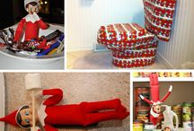 Elf on the Shelf Ideas (for when I have grandbabies) / by Angela Campbell
