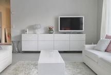 Entertainment center in livingroom