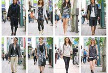 Asian street fashion /  Japanese and Korean street fashions / by Jasmine Jeffries