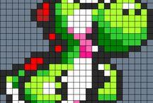 Mario strijkkralen Anne