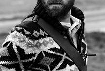 Men with beards / Delicious pictures of bearded men. Oh yes.