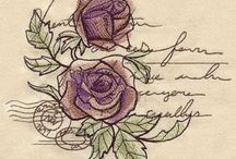 writing machine embroidery