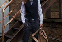 Androgynous Autumn/Winter Fashion / Menswear For Women  www.thomasthomas.london