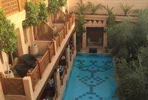 Hôtel à Marrakeck <Maroc> La Maison Arabe / Hôtel de luxe dans la medina de Marrakech / Maroc
