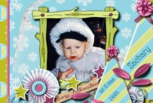 Digital Scrapbook / These are my own digital scrapbook designs. Thank you for looking!