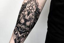 Tatouage pour bras gauche