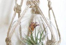 Макраме вешалки для растений