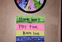 Kids schedule ideas