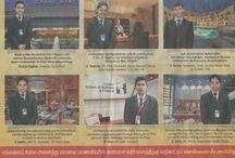 Meritorious Award / Chennais AMirta International Institute of Hotel Management CEO Mr. R.Boominathan Sir, Got Meritorious Award.