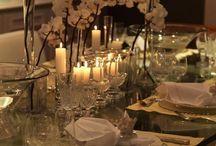 MESAS DE RÉVEILLON / receber no Réveillon, mesas para brindar a chegada do Ano Novo, decoração