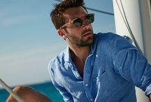 Moda Verão - Homem / Moda praia, moda banho, roupas leves e descontraídas para dias quentes e situações casuais.