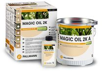 Pallmann Natural Oils / Pallmann Magic Oil 2k is a 2-component oil/wax hybrid penetrating finish for residential and commercial applications.  It provides a velvety matte finish that repels dirt and water and gives the floor a rich European hand-rubbed appearance.