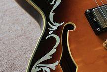 "Vine / inlay sticker ""Vine"" guitar/ukulele decals"
