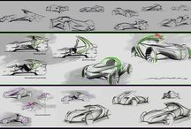 Auto Inspirations / sketching