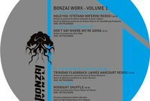 #Vinyls / by Bonzai Progressive - Electronic Record Label