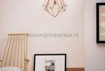 Scandinavisch behang voor je muren / Scandinavisch behang wordt gekenmerkt door grafische en duidelijke patronen in heldere of pastelachtige kleuren die een aangename atmosfeer brengen.