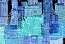 illustrazioni urbane