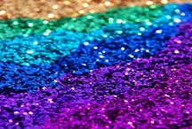 All that GLITTERS! / Everything is better with glitter and sequins. / by Marisa Doan