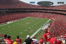 Arrowhead Stadium - The Kansas City Chiefs Stadium / Check out these pictures from Arrowhead Stadium and some of the new upgrades, including a new Hall of Honor exhibit.