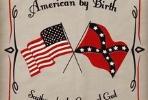 Southern Pride / American by birth, Southern by the Grace of God.   Although not proud of all aspects of Southern US history, I am extremely proud of my Southern roots.