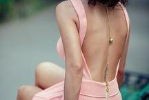 vestidos de escote espalda