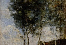 Corot and Barbizon School Artists / Landscapes by Jean-Baptiste-Camille Corot and the Barbizon School artists