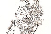 fox tats