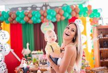 Festa infantil fazendinha / Idéias criativas para decoraçåo de festa infantil com o tema fazendinha.