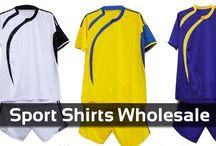 Sports Shirts / Wholesale sports shirts supplier and manufacturer with discounted prices