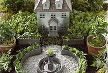 Fairy Garden Kits for sale in Canada / Makes a great gift..all in one kit..everything to make a scene. A fairy Scene that is. New at The Fairy Garden Canada