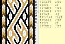 card weaving/kártyaszövés