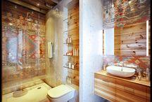Bathrooms / by Tiffany De La Paz