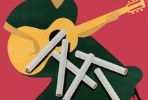 Gitanes cigarettes / Gitanes cigarettes posters.