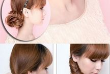 DIY hairstyling...!!