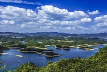 Thousand-Islet Lake / Thousand-Islet Lake is the largest man-made lake in east China. -