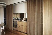 Timber slat door