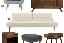 Madmen Inspiration / Like what you saw on AMC's Madmen? Get the mid-century modern look for your own home or office at Crave Furniture | Calgary Modern Furniture Store